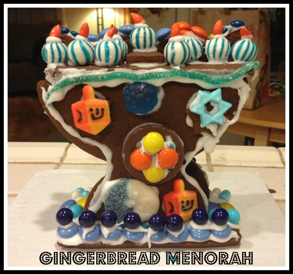 ginberbread menorah_craft