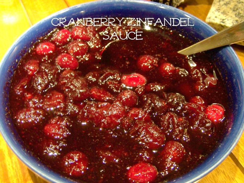 cranberry zinfandel sauce