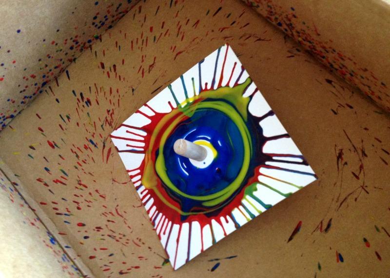 Dreidels and menorahs getting crafty for hanukkah leah for Menorah arts and crafts