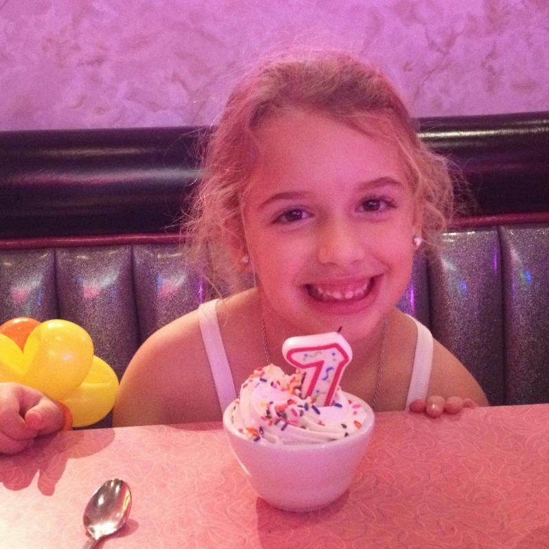 sophie is 7